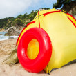 Stock Photo: Beach shelter