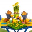 Stock Photo: Easter table