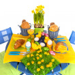 Detail easter table — Stockfoto #18821185