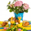 Detail easter table — Stock Photo #18823427