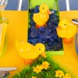 Detail easter table — 图库照片 #18824327