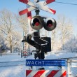 Railway crossing — Stock Photo #21594603