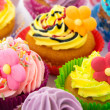 Birthday cupcakes — Stock Photo #24073113