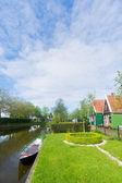Typical Dutch village — Stock Photo