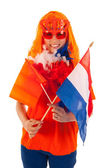 Kings dagen i holland i orange — Stockfoto