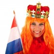 Kings day in Holland — Stock Photo