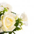 Mixed bouquet white flowers — Stock Photo #25467285