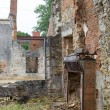 Stock Photo: Broken huis in Oradour sur Glane