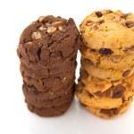 Chocolate and vanillia cookies — Stock Photo #31063145