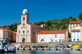 Church Port Vendres — Stock Photo