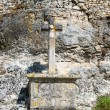 Stock Photo: Pilgrimage cross in Rocamadour