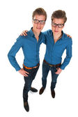 Adult male twins — Stock Photo