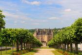 Castle JUMILHAC LE GRAND in France — Stock Photo
