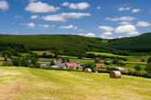 French landscape in the Bourgogne — Stock Photo