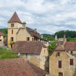 Stock Photo: French village in Perigord