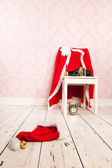 Santa Claus undressed — Stock Photo