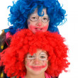 Two funny little clowns — Stock Photo #36423957