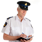 Police in Holland — Stock Photo