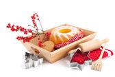 Baking sweet for Christmas — Stock Photo