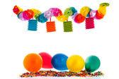 Colorful paper chain — Stock Photo