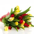 Bouquet tulips — Stock Photo