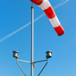 Red and white windsock — Stock Photo #41253553