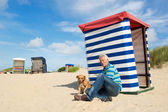 Borkum beach  — Stock Photo