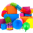 Gifts in many colors — Stock Photo #43006547