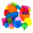 Gifts in many colors — Stock Photo #43430141