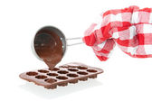 Mold for making Chocolate — Stock Photo