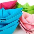 Paper boats — Stock Photo #4676021