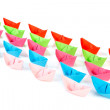 Paper boats — Stock Photo #4739835