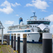 Arrival ferry boat — Stock Photo #47391537