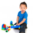 Chinese boy with little handicap — Stock Photo #4891010