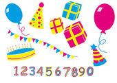 Birthday party — Stock Vector