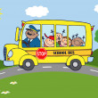 School Bus — Stock fotografie #12492435