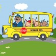 School Bus — Stock Photo #12492435