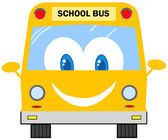 Funny School Bus — Stock Photo