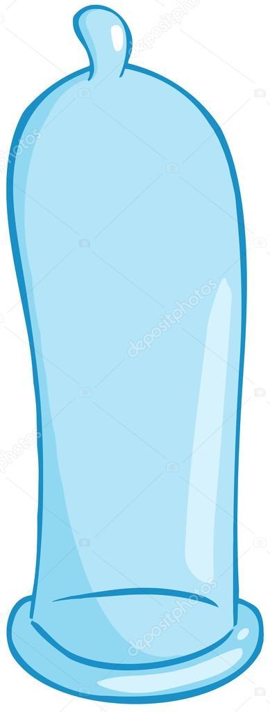 blue condom pictures