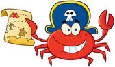 Pirate Crab — Stock Photo