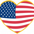 I Love USA - Stockfoto