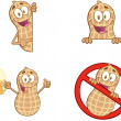 Peanuts Cartoon Mascot Characters - Stock Photo