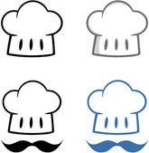 Capo cappello con mustache.collection — Foto Stock