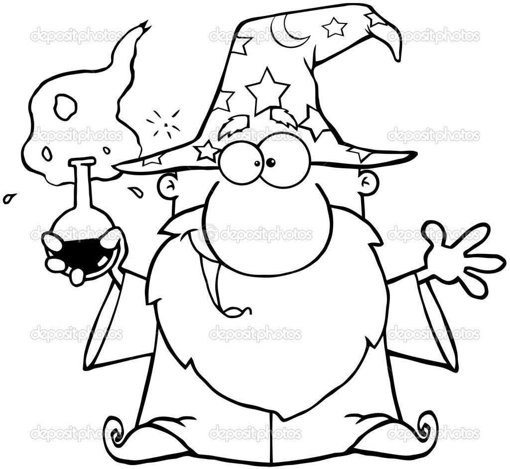Décrit l'Assistant fou détenant une potion magique