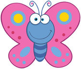 Smiling Butterfly — Stock Photo