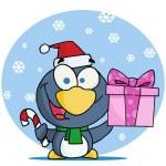 Christmas Penguin — Stock Photo #2583321