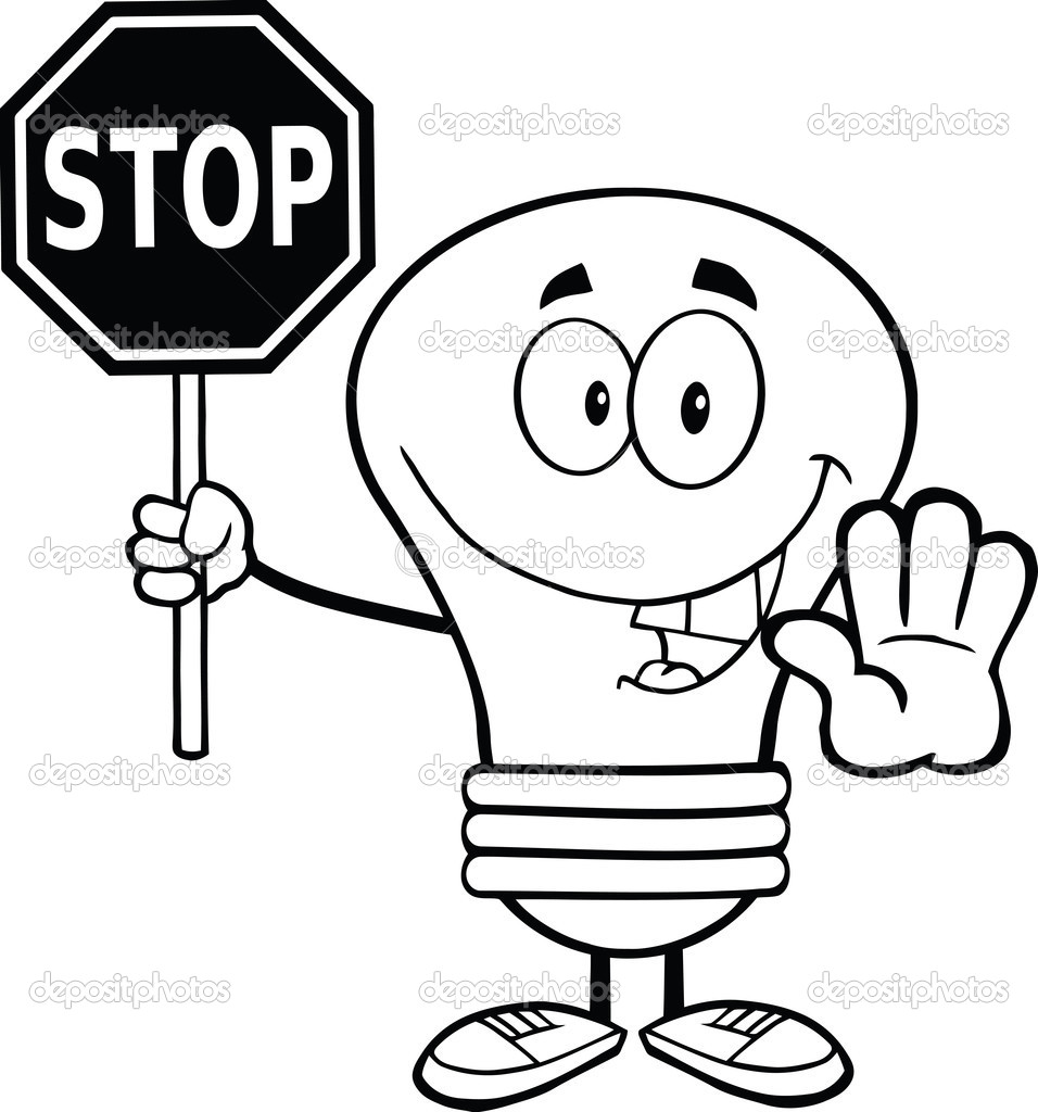 stop sign coloring page stop sign coloring pages - Stop Sign Coloring Page Printable