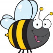 Cute Bee Cartoon Character — Stock Photo #31056779