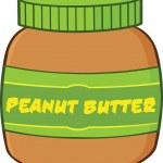 Peanut Butter Jar Illustration — Stock Photo