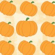 Pumpkin Pattern With Grunge Texture — Stock Photo